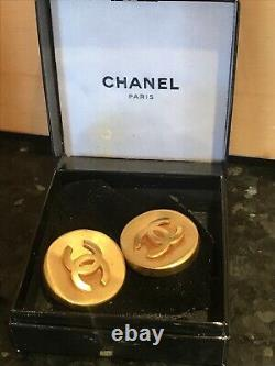 Chanel Earrings byzantine collection limited edition 1998 Clip-on Rare Vintage
