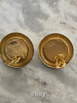 Chanel Vintage Pearl Rue Cambon Authentic Clip-on Earrings