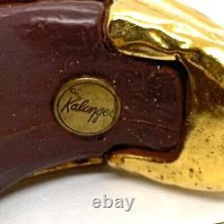 Kalinger Paris Vintage Bracelet & Clip Earrings