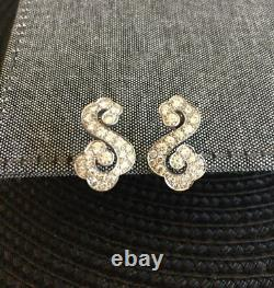 Rare Vintage Cartier Pave Diamond Earrings only pair on eBay