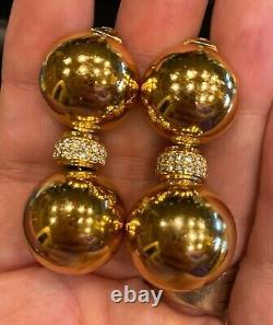 Vintage Christian Dior Clip Earrings RARE